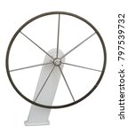 modern sailing yacht steering...   Shutterstock . vector #797539732