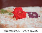 "love present ""neck let"" in a... | Shutterstock . vector #797546935"