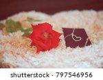 "love present ""neck let"" in a... | Shutterstock . vector #797546956"
