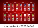 football world championship... | Shutterstock .eps vector #797556862