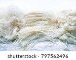 rice vermicelli  rice stick...   Shutterstock . vector #797562496