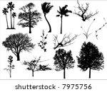 tree   Shutterstock .eps vector #7975756