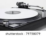 professional dj direct drive... | Shutterstock . vector #79758079