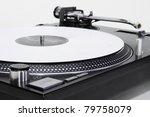 professional dj direct drive...   Shutterstock . vector #79758079