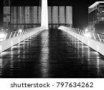 'puente de la mujer' bridge in... | Shutterstock . vector #797634262