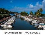 st. gilles les bain  reunion    ... | Shutterstock . vector #797639218