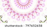 melting colorful pattern for... | Shutterstock . vector #797652658