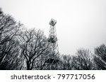 lighthouse in monochrome colors ... | Shutterstock . vector #797717056