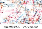 grainy dotted distressed grunge ... | Shutterstock .eps vector #797723302
