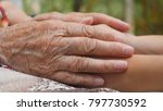 old woman holding young female...   Shutterstock . vector #797730592