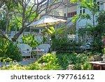 cozy resort thailand travel... | Shutterstock . vector #797761612