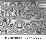 warped silk background.warped... | Shutterstock . vector #797767882