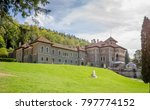 cantacuzino castle built in neo ... | Shutterstock . vector #797774152