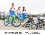 russia  samara  august 8  2015  ... | Shutterstock . vector #797788582