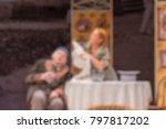theater play theme creative... | Shutterstock . vector #797817202