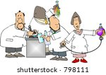 scientists at work | Shutterstock . vector #798111
