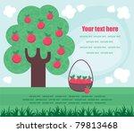 cute fairytale scene. vector...   Shutterstock .eps vector #79813468