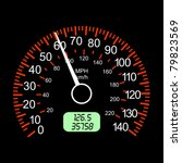 car speedometers for racing... | Shutterstock .eps vector #79823569