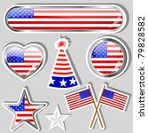 collection of independence day... | Shutterstock . vector #79828582