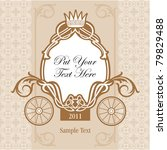 wedding invitation design with... | Shutterstock .eps vector #79829488