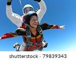 skydiving photo | Shutterstock . vector #79839343