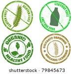 collection of grunge diet...   Shutterstock .eps vector #79845673