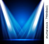eps10 vector stage lights   Shutterstock .eps vector #79848661