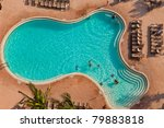 aeriel view of large swimming... | Shutterstock . vector #79883818