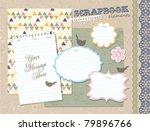 scrapbook elements | Shutterstock .eps vector #79896766