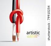 vector art concept | Shutterstock .eps vector #79910254