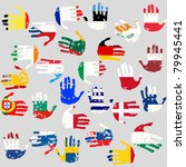 Hands With European Union...
