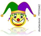court jester smile character | Shutterstock . vector #79952662