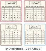 Handwritten 2012 Calendar With...