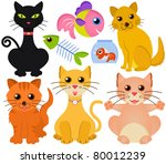 Cartoon Vector Of Different Ca...