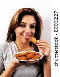 eating cookies   Shutterstock . vector #8003227