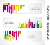 abstract modern website banner... | Shutterstock .eps vector #80039248