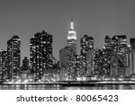 New York City Skyline At Night...