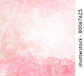 romantic background | Shutterstock .eps vector #80067625