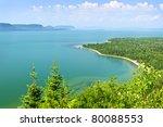 Beautiful Landscape Of Lake...