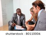 business people meeting in... | Shutterstock . vector #80110006