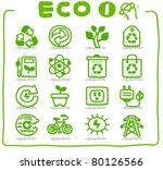 hand drawn eco icon | Shutterstock .eps vector #80126566