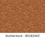 vector seamless old brick wall... | Shutterstock .eps vector #80182465