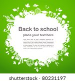 back to school   background... | Shutterstock .eps vector #80231197