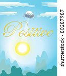 positive background | Shutterstock .eps vector #80287987