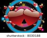 hearts | Shutterstock .eps vector #8030188