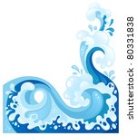 sea wave background in... | Shutterstock .eps vector #80331838