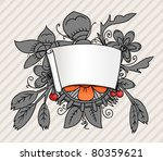 fantastic style ornamented... | Shutterstock .eps vector #80359621