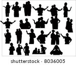 family | Shutterstock .eps vector #8036005