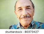 portrait of senior hispanic man ... | Shutterstock . vector #80373427