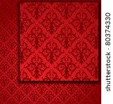 Red Seamless Pattern  Wallpaper